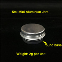 Cheap 5g ml Weight: 2g Aluminum Jars Aluminum Wax Containers ...