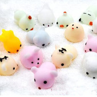 Moda Squishy Slow Rising Jumbo Toy Bun Toys Animales Cute Kawaii Squeeze Cartoon Mini Squishies Cat Squishiy Rare Animal Gifts Charms DHL