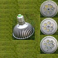 Par30 E27 LED Spot Ampoule Lamparas 5W 6W 7 W Dimmable 220 V 110 V pour Intérieur Éclairage Intérieur Hôtel Jwelry Surpermarche Éclairage Décoration