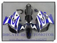 Kit carenatura 100% nuovo di alta qualità adatto per Suzuki GSX600F / 750F 1997-2005 GSX 600F GSX750F 1998 1999 2000 2001 # FC627 NERO BLU