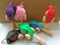 Кэндама Держатель с quickdraw Подходит для 18.5 СМ Кэндама Японская Традиционная Деревянная Игрушка Игры DHL
