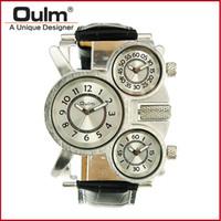 OULM 1167 Cool Military Sport Digital Analog orologi da uomo di lusso con 3-Movt regalo del papà Drop Shipping