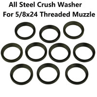 Wholesale 25pcs lot AR15. 308 308 Crush Washer for 5 8x24 Thr...