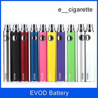 EVOD Batterie 650mah 900mah 1100mah Colorfull Batterie EVOD pour MT3 CE4 CE5 CE6 Kit cigarette électronique E