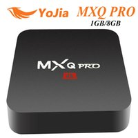 MXQ Pro Android 7.1 TV-BOX 1 GB 8 GB Amlogic S905W QuadCore 2,4 GHz WiFi IPTV Smart TV-Box