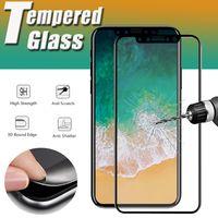 Углеродное волокно 3D изогнутые кромки взрывозащищенные премиум-экран закаленного стекла защитная пленка для iPhone 13 Pro Max 12 Mini 11 XS XR X 8 7 6 6s Plus SE