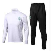 Best quality 17 18 Real Madrid Soccer Tracksuit Jacket Suit ...