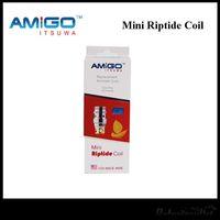 Amigo Mini Riptide Bobina 0.5OHM Soporte 15-50W también para mini tanque de Polestar Free DHL 200% original