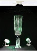 nicht die Blumen einschließlich) Neues Design Splitter mandap Säule Hochzeit Stufen Kristall königliche Hochzeit Säulen Balken mandaps für Hochzeit Bühnen
