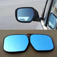 Auto peças para honda city 2008-2013 espelho retrovisor do carro hipérbole azul espelho seta led luzes de sinalização
