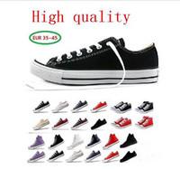 Fabrik-Werbepreis! Hochwertige HL Classic-Low-Top-High-Top-Leinwand-Casual-Schuhe Sneaker Herren- / Damen-Segeltuchschuhe EU35-45