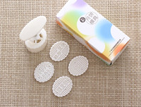 50g white elliptical shape Mung Bean word patten Moon Cake Molds with 4 Stamps plastic hand pressure chinese mooncake mold,20sets/lot