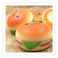 New Hamburger Squishy 10CM Jumbo Squishies Hamburger Burger ...
