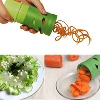 Nova Cozinha Vegetal Frutas Slicer Julienne Espiral Curly Choppers Cortador Ferramenta # R21