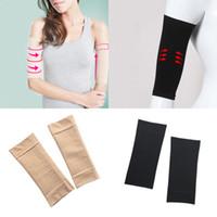 Bekleidung Zubehör Neue Arm-former Frauen Fett Burning Thin Arm Elastische Hülse Armband Arm Wärmer Schwarz Beige Farben