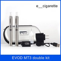 electronic cigarette Evod MT3 double starter kit atomizer cl...