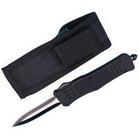 Promotion Allvin Fabrication 7 pouces Petit 616 tactique Couteau automatique 440C Double Action Fine Edge Titanium Lame EDC