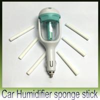 Nawilżacze samochodowe Aromaterapia Nebulizator Nebulizator Nawilżacz Sterylizacji Sponge Water Stick 50 sztuk / partia Darmowa Wysyłka