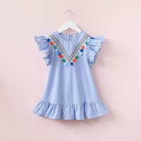 Girls stripe Kids Baby Girls Summer Dresses, Infant Outfits ...