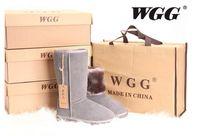 Dorp ABD BOYUT EU36-43 çizme 2016 Yüksek Kalite WGG Kadın Klasik uzun boylu Boots Kadın çizme Boot Kar botları kışlık botlar deri botlar nakliye