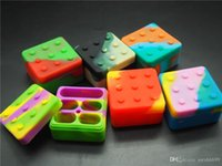 MOQ=10pcs quality silicone container for wax