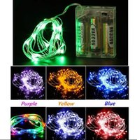 Weihnachtsbeleuchtung 3 Mt 30 LEDs AA Batteriebetriebene Led String Mini LED Kupferdraht String Fairy Light Weihnachten Home Party Dekoration Lichter
