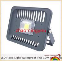 옥외 벽 램프 정원용 프로젝터에 대 한 LED 홍수 빛 방수 IP65 30W 50W 100W 90-240V LED FloodLight 스포트 라이트 맞는