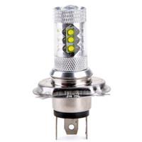 Súper blanco H4 HB2 9003CREE 80W LED Proyector Ultra brillante faro faro Alta / baja haz de alta potencia coche Led niebla luz