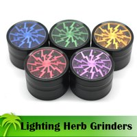 High Quality Lighting Grinders 63mm Tobacco Grinder Herb Spi...