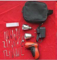 لوازم الأقفال، Klom اللاسلكي قفل كهربائي، بني بندقية، Lock Pick، أدوات الأقفال، KLOM Lock Lock Pick Gun، اللاسلكي بندقية بندقية