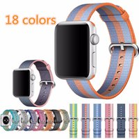 New arrival Nylon strap band for apple watch band 42 mm 38 m...