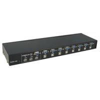 Freeshipping 8 порт USB 2.0 внешний переключатель KVM коробка переключатель поддержка 1920x1440 новый