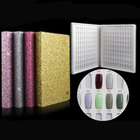 2017 Newest 216 Colors Nail Gel Polish Display Book Chart & ...