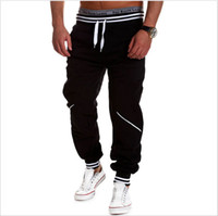 DHL free 50pcs lot Mens Fashion Joggers Pants 2016 Brand Tro...