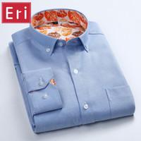 بالجملة، جديد رجل أكسفورد قمصان عادية اللباس ذكر كم طويل سليم صالح رجال الأعمال القميص Camisa الغمد آسيا حجم S-4XL X445