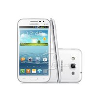 تم تجديده الأصلي Samsung Galaxy Win Duos I8552 4.7 بوصة 4 جيجابايت ROM رباعية النواة الروبوت واي فاي شوفان الهاتف الذكي