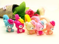 The new children' s hair jewelry, cute candy- colored, ru...