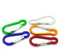 Carabiner Outdoor Sports Aluminium Alloy Safety Buckle Keych...