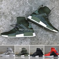 Cheap NMD XR1 Winter boost Man Running Shoes for men Red Gre...