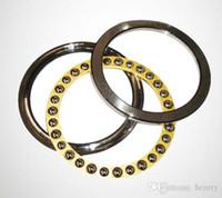 одиночная сталь подшипника плоского давления рядка, шаровые подшипники тяги 51217,51218,51220,51222 / M