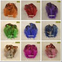 10 cores Brand new alta qualidade 1000 pçs / lote 5-10 cm / 2-4 polegadas faisão pena festa festival fontes do partido