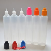 60ml Empty Bottle Plastic Dropper Bottle with Colorful Child...