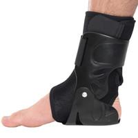 دعم الكاحل هدفين حارس القدم الالتواء إصابة التفاف مرونة جبيرة حزام الرياضة