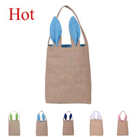 Easter Day Bunny Ears Tote Bags Fashion Cartoon Designer Han...