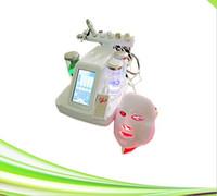7 em 1 limpeza facial equipamento de terapia de oxigênio microcurrent face elevador de água oxigênio jato máquina de casca