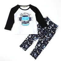 Newborn children clothing sets Boys Girls Toddler Kids long ...