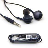Для наушников s8 высокое качество Наушники Наушники Для Samsvng Galaxy S7 S6 S8 плюс 3,5 мм Наушники-вкладыши Гарнитура с микрофоном Регулятор громкости
