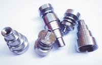 Evrensel Kubbesiz Titanyum Tırnak 10mm-14mm - bong için 18mm Ayarlanabilir Erkek veya Kadın