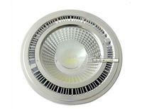 COB LED Spotlight AR111 15W dimmerabile COB ES111 QR111 GU10 G53 110V 120V 220V 230V 240V Pari 120W Lampada alogena 2800-7000K