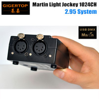 Martin Light jockey USB 1024 DMX 512 DJ Controller, Martin light jockey 3 Pin 1024 USB DMX Controller Certificado CE